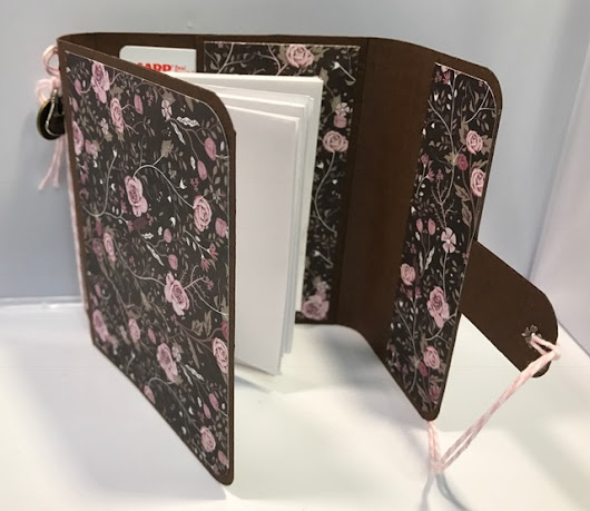 Wallet/Notebook Using Rose Quartz