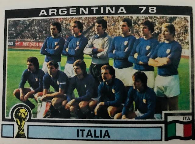 Figurina Italia Argentina '78