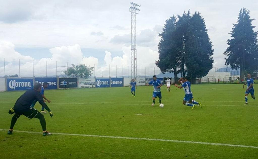 Toluca y Puebla empatan 2-2 en partido amistoso