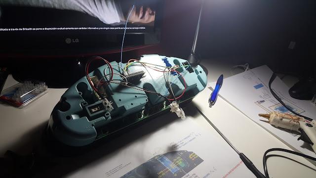 dashboard E36