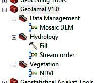 مجموعة أدوات GeoJamal لبرنامج ArcGIS النسخة الأولى