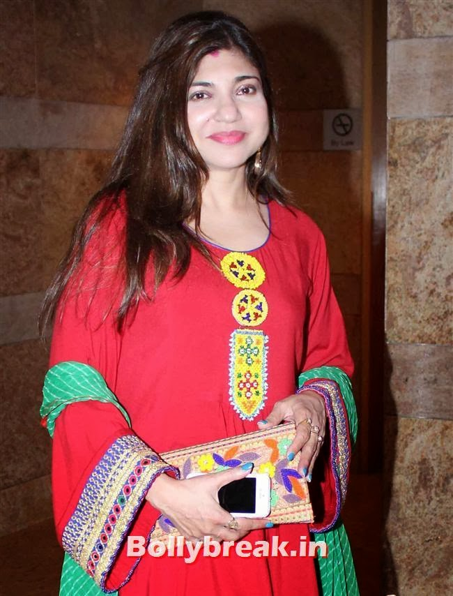 Alka Yagnik, Bollywood Beauties at Yash Chopra Memorial Awards