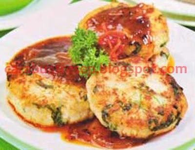 Foto Resep Steak Tahu Sayuran Saus Kacang Polong Sederhana Spesial Asli Enak