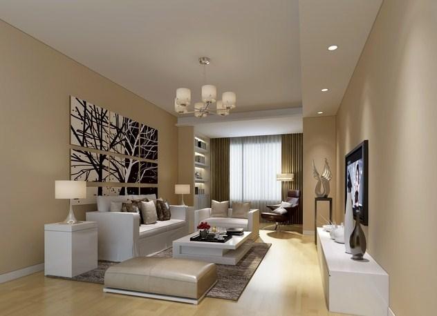 Desain ruang tamu minimalis tanpa sekat - Ruang tamu minimalis keluarga sederhana