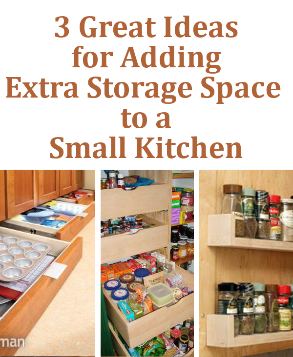 Extra kitchen storage ideas 15 small kitchen storage amp for Extra kitchen storage