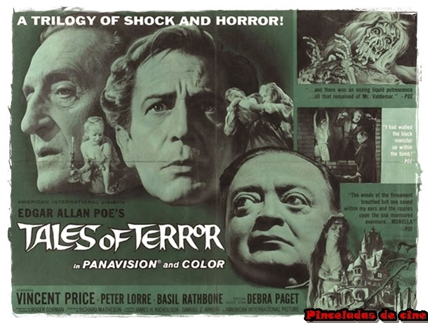Historias, terror, Corman