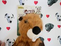 beaver no stuffing dog toy