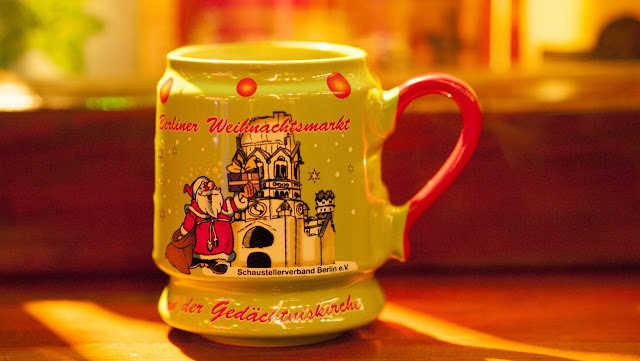 Glühwein mug from the Christmas Markets in Berlin