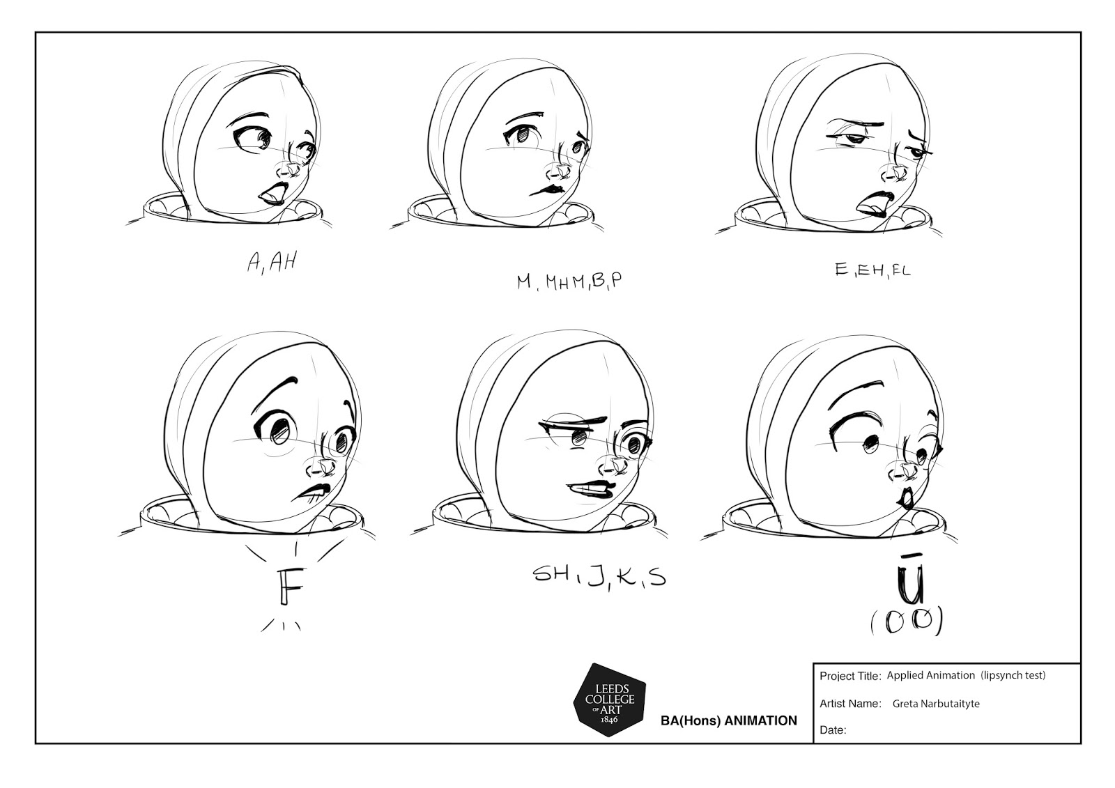 Studio Practice: Applied Animation: Lip Synching