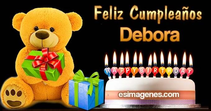 Feliz cumpleaños Debora