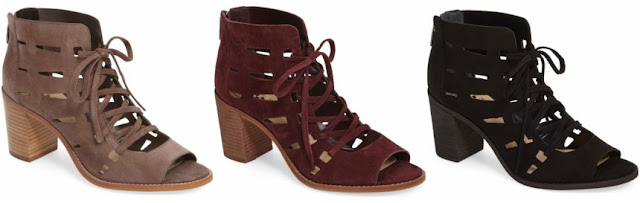 Vince Camuto Tressa Lace-Up Sandals $80 (reg $130)