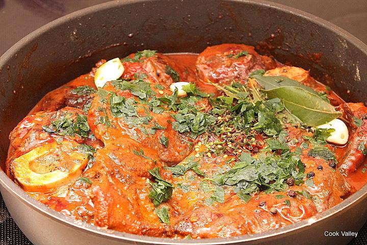 cookvalley - tanker om mad: Osso buco af okseskank med hjemmelavet polenta