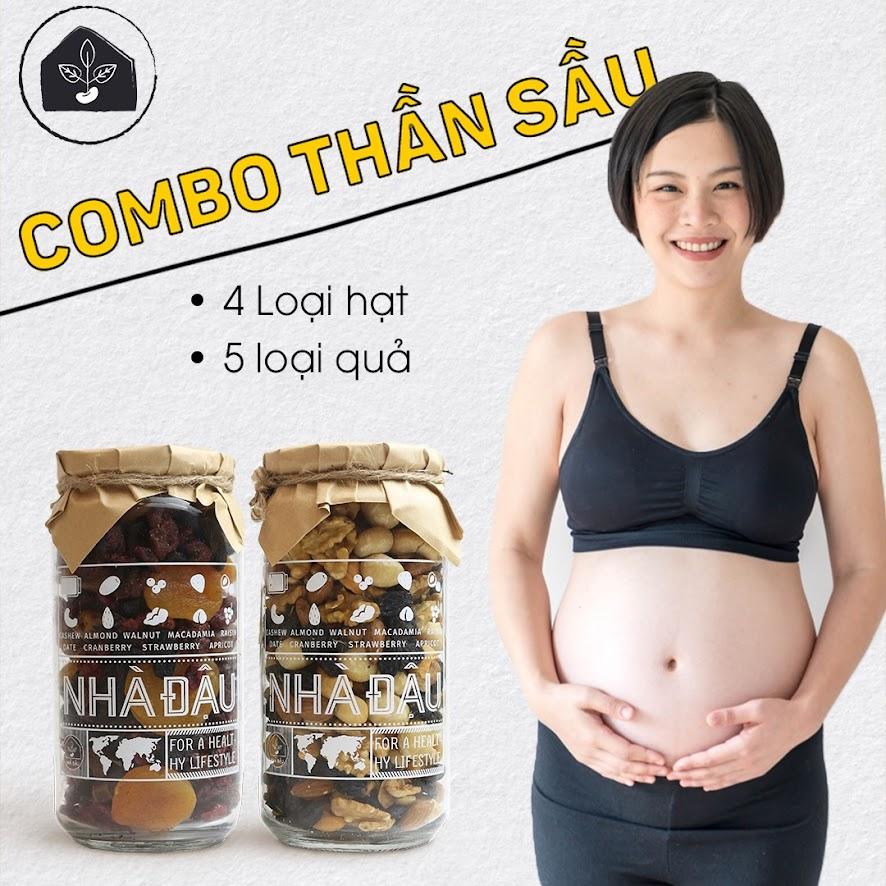 Mixnuts 5 loại hạt cung cấp Omega 3 tốt cho Bà Bầu