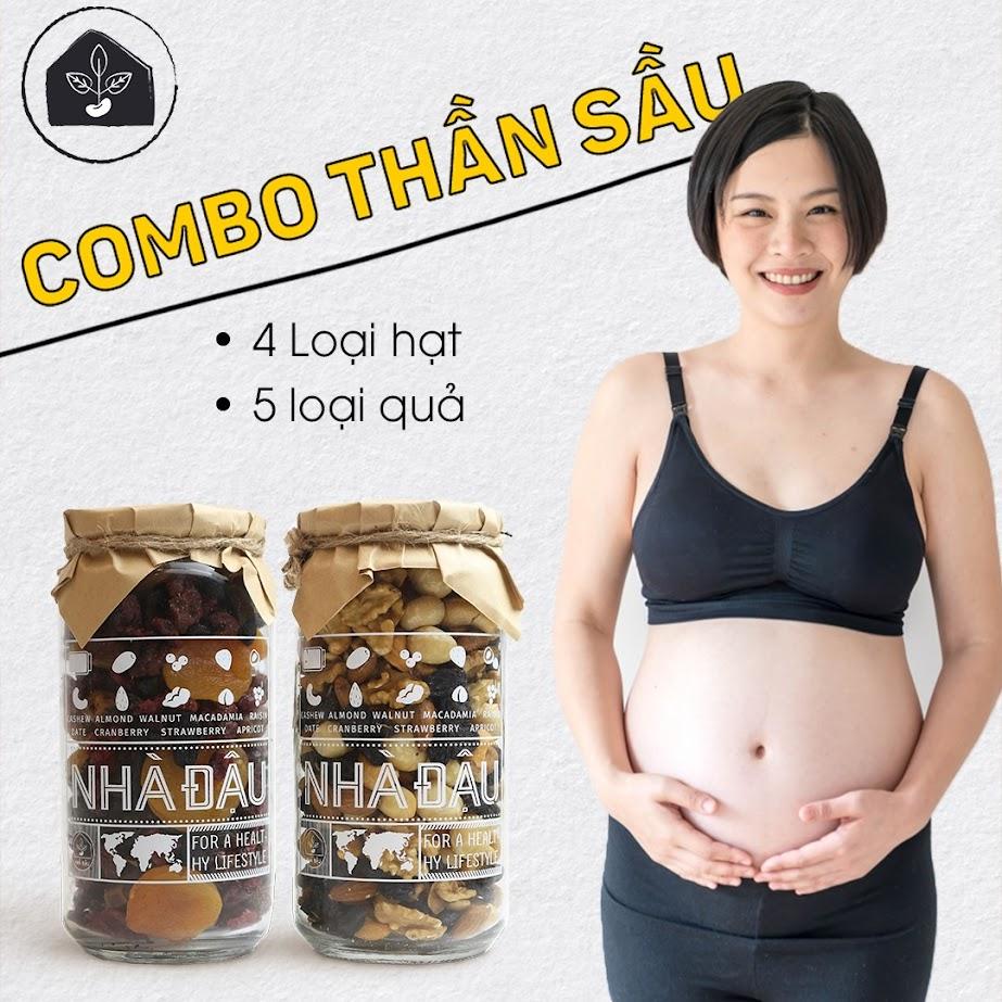 Ăn hạt dinh dưỡng khi mới mang thai có tốt không?