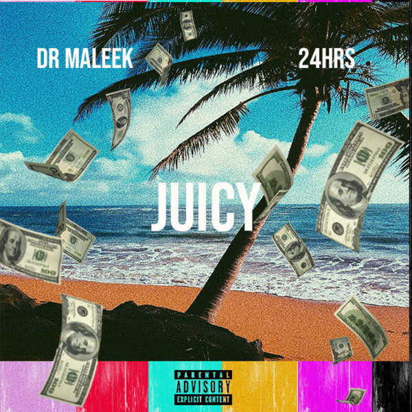 Dr Maleek - Juicy (feat. 24hrs) - Single Cover