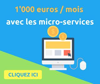 Gagnez un SMIC tous les mois avec les micro-services