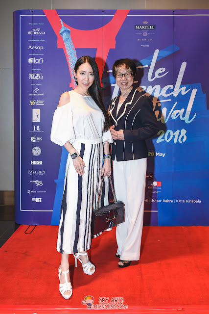 Le French Film Festival 2018 Launching at GSC Pavilion KL, Malaysia - Mi-Ki Choong and Datin Ho Choy Meng