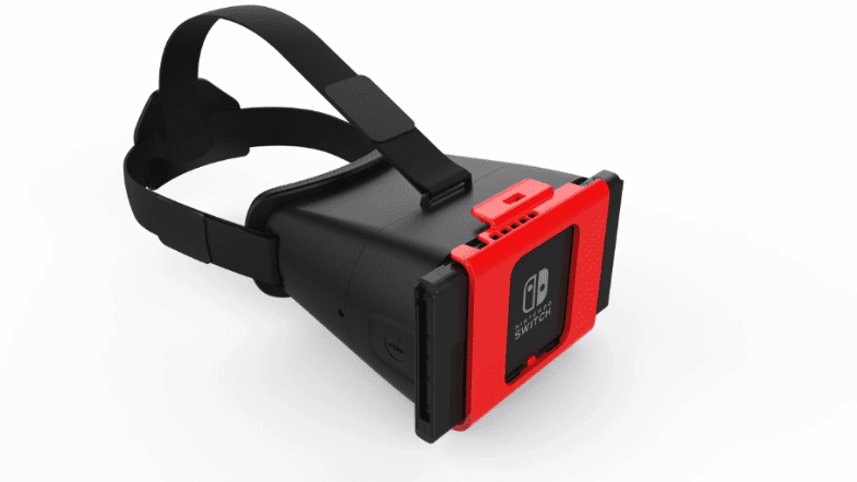 Nintendo Switch First VR-Style Headset