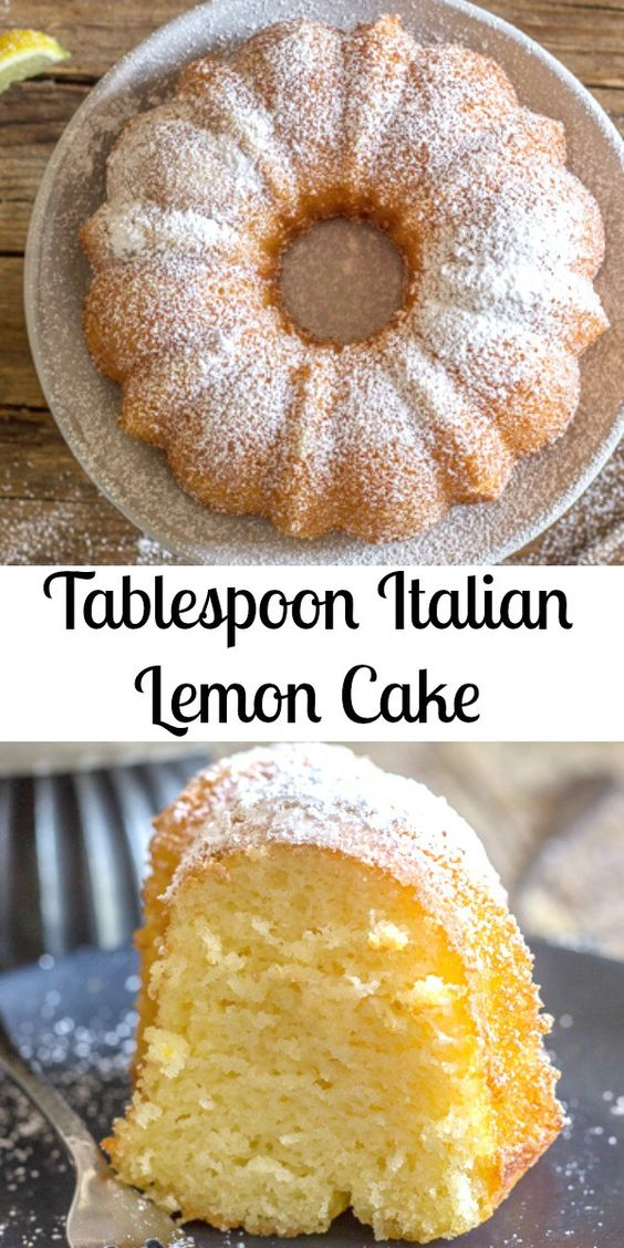 Tablespoon Italian Lemon Cake