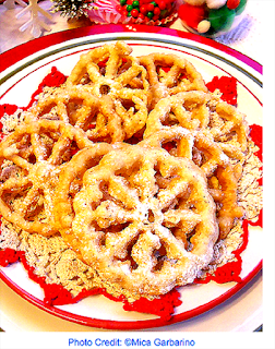 Review of Favorite Christmas Cookies - Rosettes Recipe