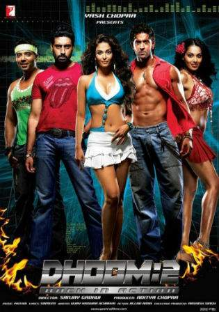 Dhoom 2 2006 BluRay 400Mb Full Hindi Movie Download 480p Watch Online bolly4u