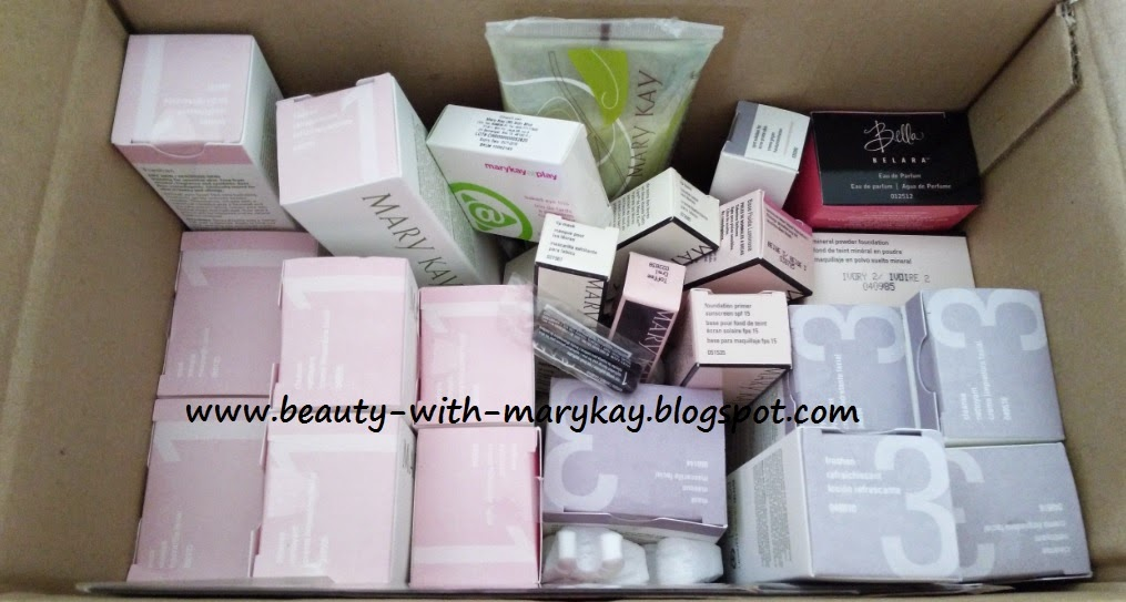 set botanical formula 1 , set botanical formula 2 + bella Belara perfume + set promosi makeup mary kay + loofah body cleanser +  spot solution for acne skin + mineral powder