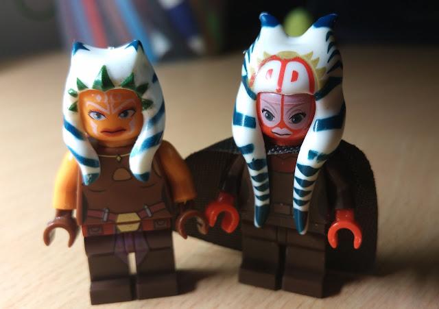 Ahsoka Tano and Shaak Ti Star Wars