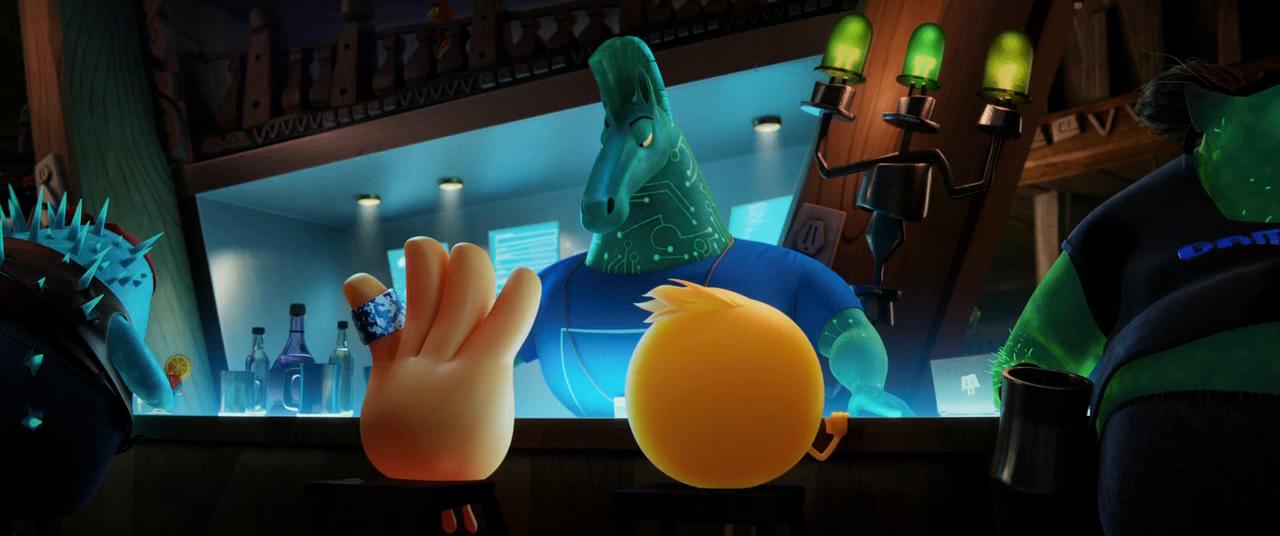 Emoji: La Película (2017) HD 720p Latino - Ingles captura 2