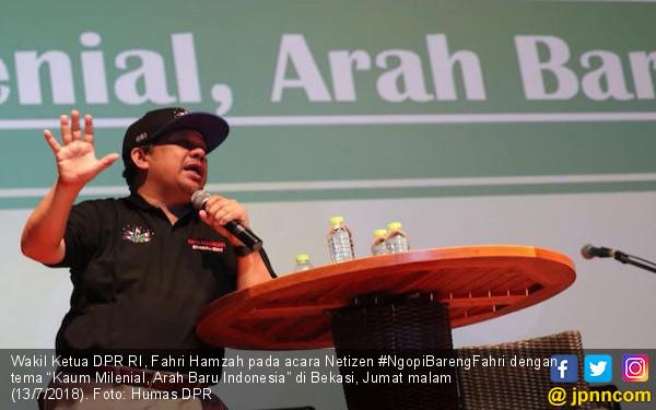 Fahri Hamzah: Poros Baru Akan Muncul 9 Agustus
