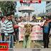 मधेपुरा: बीएनएमयू के कुलपति डॉ विनोद कुमार का पुतला फूंका