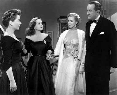 """All about Eve"", Mankiewitz, Bette Davis, Anne Baxter, Marilyn Monroe"