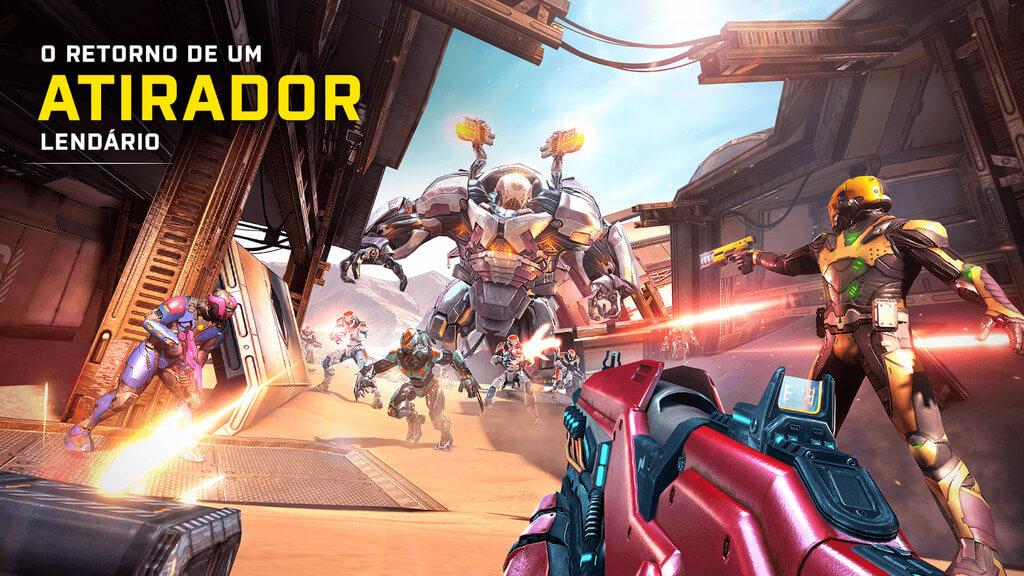 Shadowgun Legends APK MOD + OBB Dumb Bots / Mod Menu 2021 v 1.1.0 b11000125