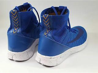 Sepatu Running Nike Free Mercurial Superfly Blue Premium, sepatu running premium, sepatu running import, sepatu running murah