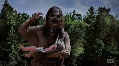 Baby of the Whisperers in the Walking Dead