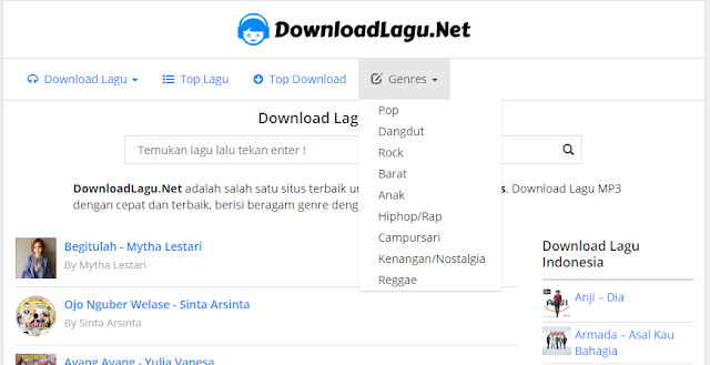 Situs Download Lagu MP3 Terbaik