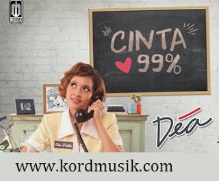 Kunci Gitar Dea - Cinta 99%