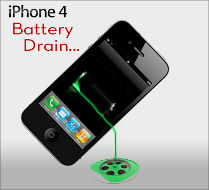 what is draining my iphone battery iphone 4 battery drain search technologies 6120