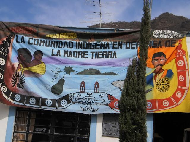 Exigen indígenas la devolución de predio al gobierno