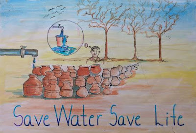 Save Water Drawings