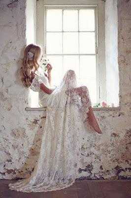 Vestido de Noiva Ombro a Ombro com Cauda