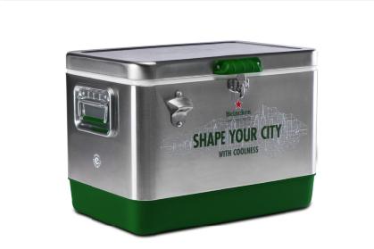 Verlosung einer coolen und eleganten Heinecken Kühlbox im Atomlabor Blog