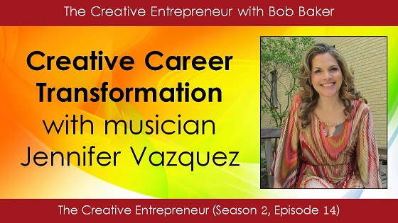 Creative Career Transformation with Jennifer Vazquez