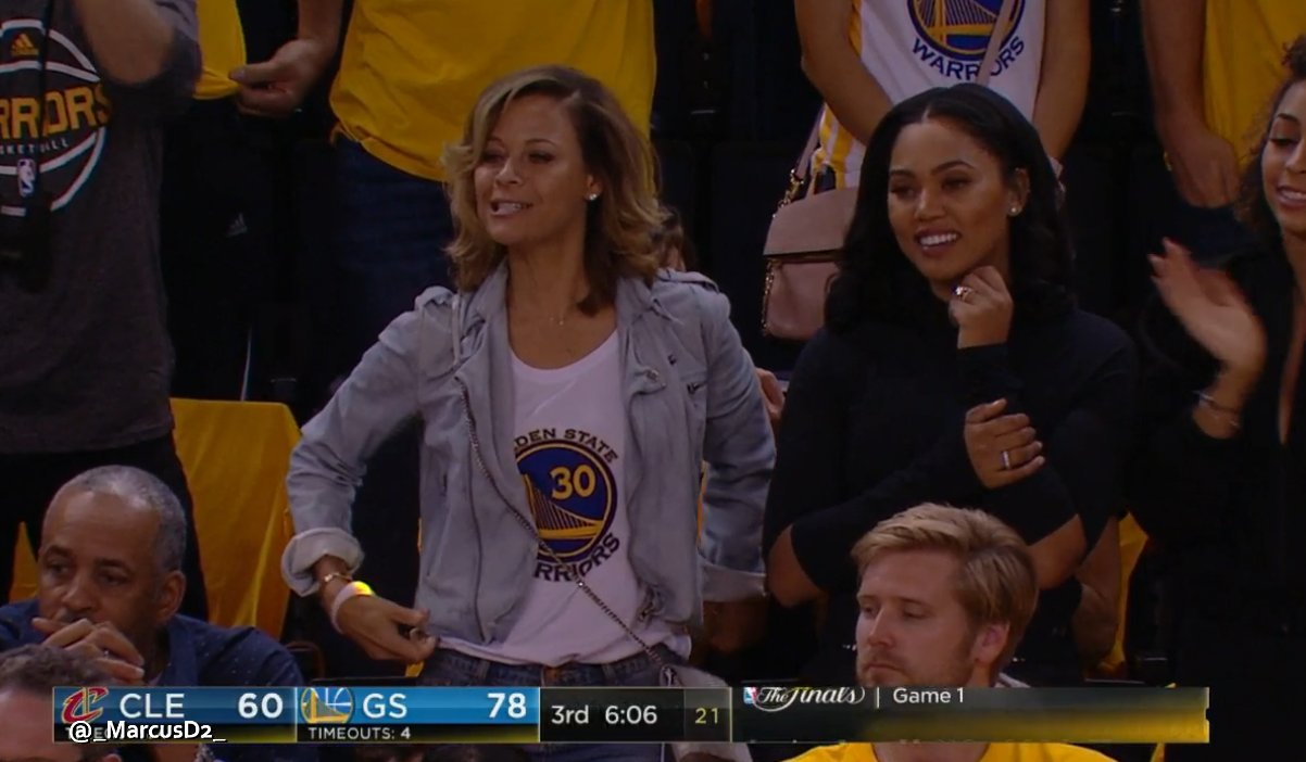 Sport GIFs & Videos: Sonya Curry and Ayesha Curry ...