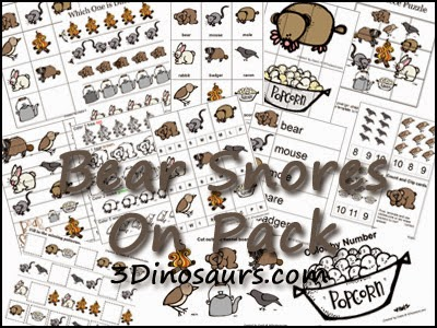 Bear Theme- Weekly Home Preschool