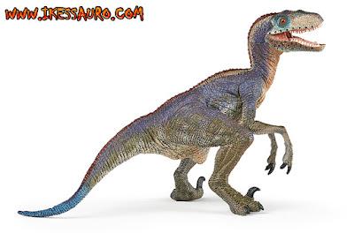 Papo Blue Velociraptor
