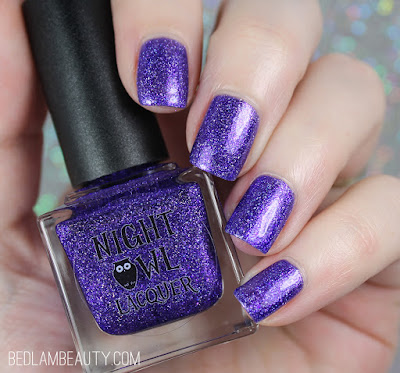 Night Owl Lacquer Tastes Like Purple   Polish Pickup February 2018   Sugar Rush!