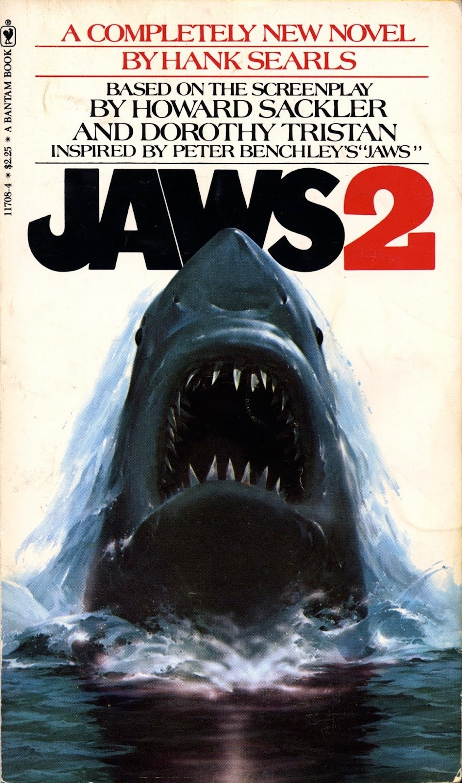 Jaws Book Cover Art ~ Dead man s brain jaws covered
