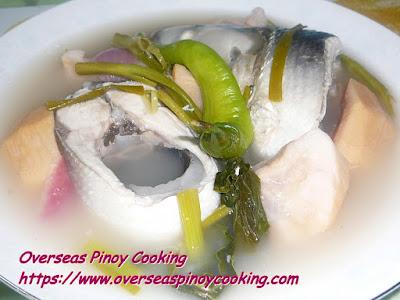Sinigang na Bangus sa Santol Dish