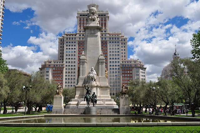 Plaza de España em Madri