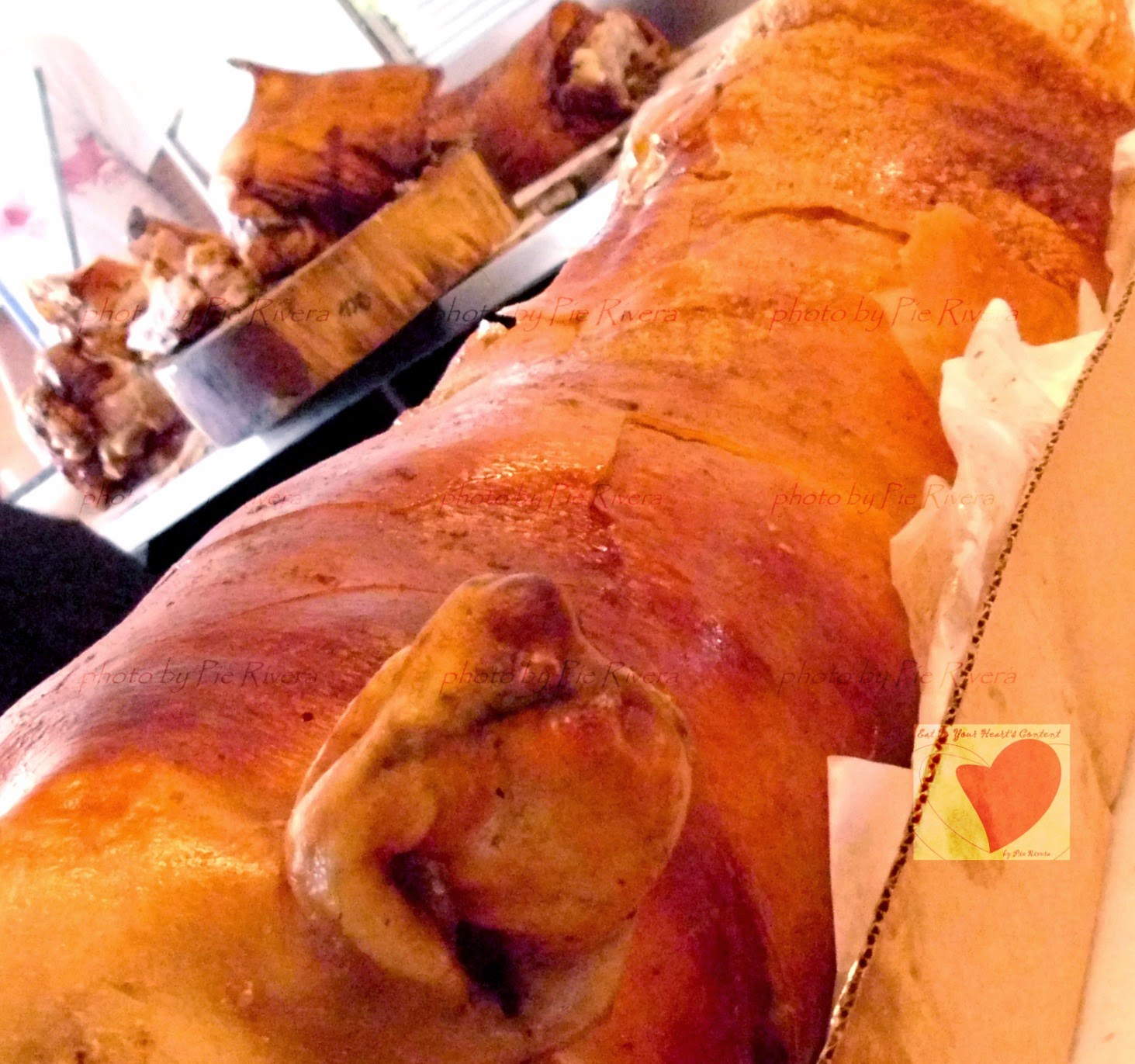 Hailed by Anthony Bourdain as Best Lechon in the World